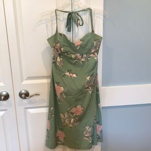 Betsey Johnson halter cocktail dress. Size 10.